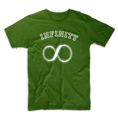 IX TShirt infinity - forest green