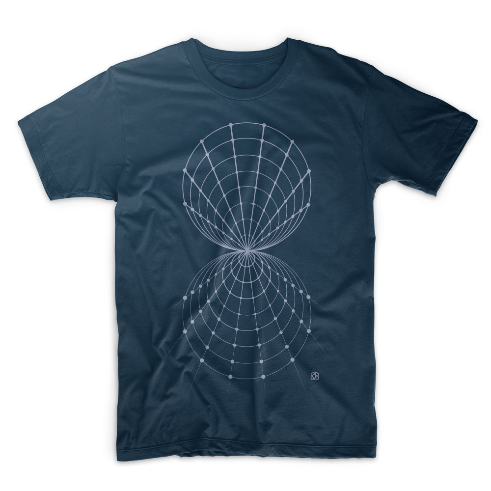 Fixed point of the wind T shirt