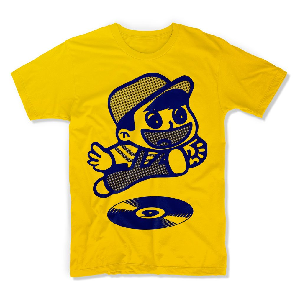 IX-TShirt Let's Go! - Sunflower Yellow