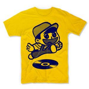 IX-TShirt Let's Go! - Sunflower Yellow