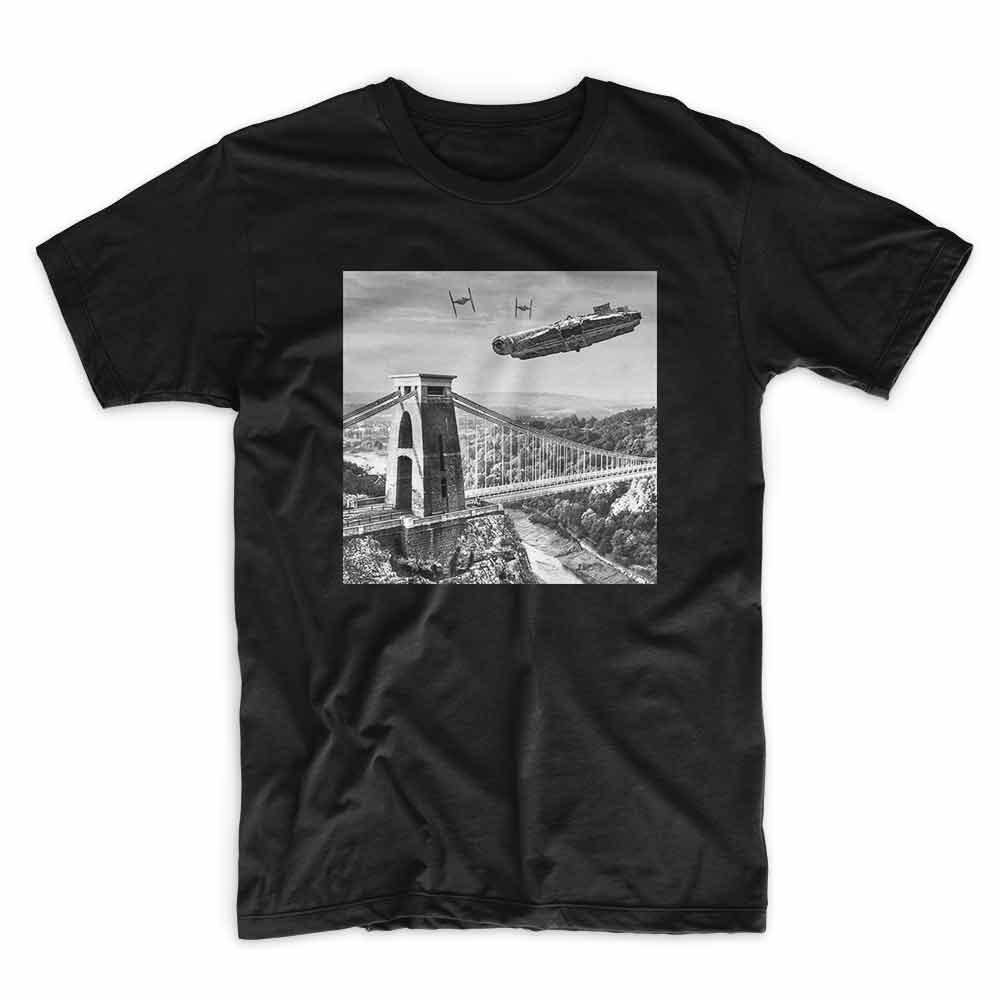 Millennium Black T shirt by IX