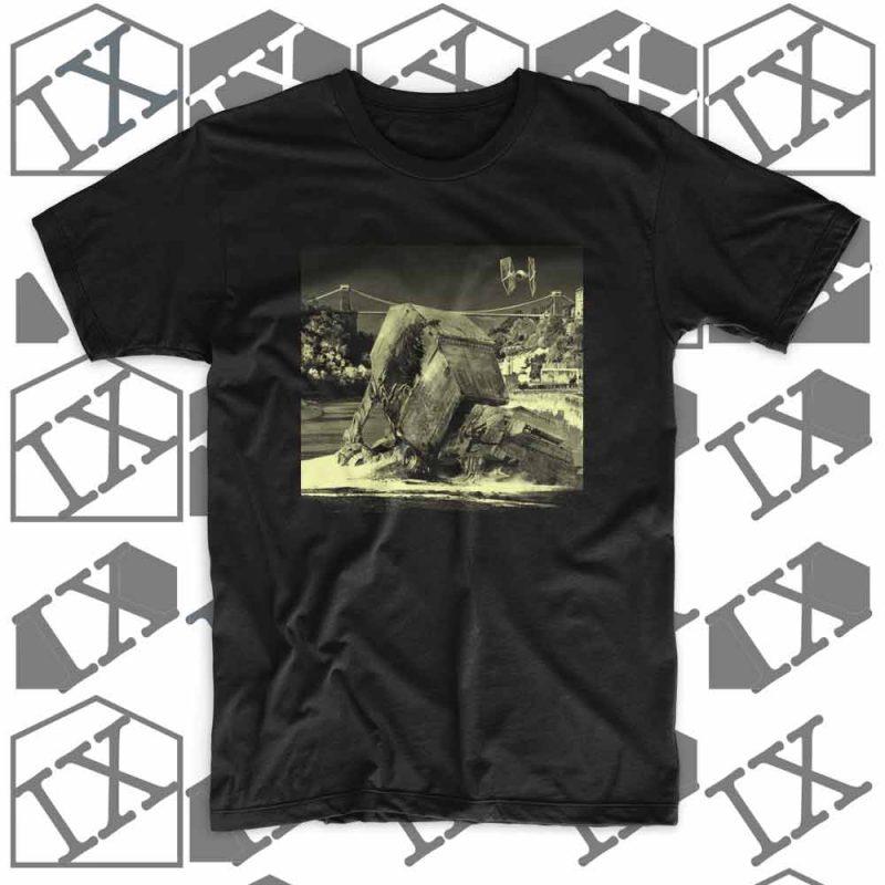 IX TShirt Walker Down black