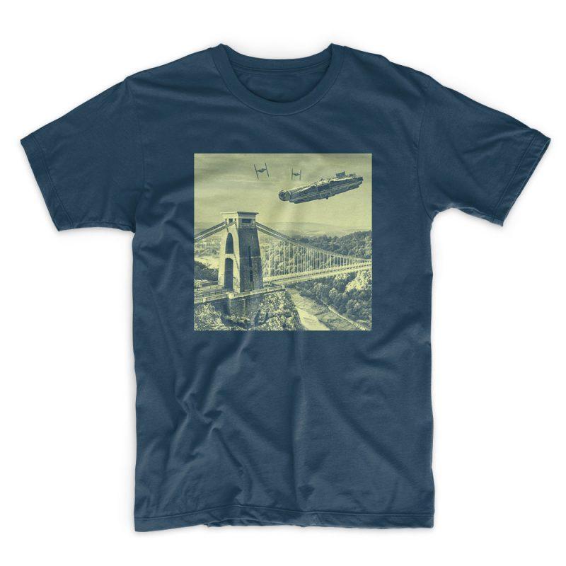 Millennium Denim blue Tshirt by IX
