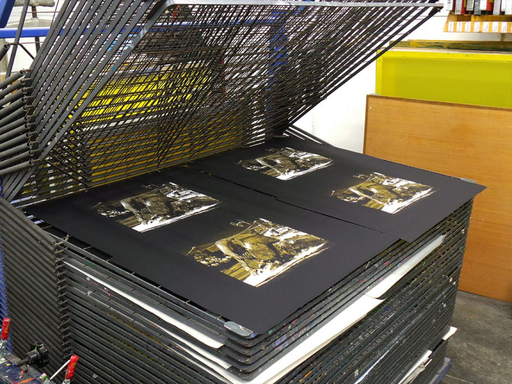 Walker Down limited edition screen prints