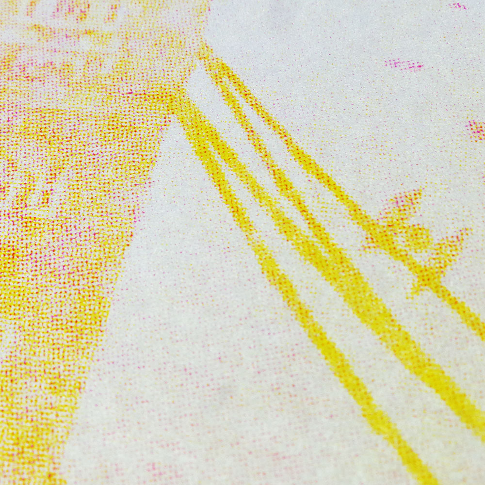 Star Wars - Incident at Tower Bridge - Screen print - Yellow & Magenta