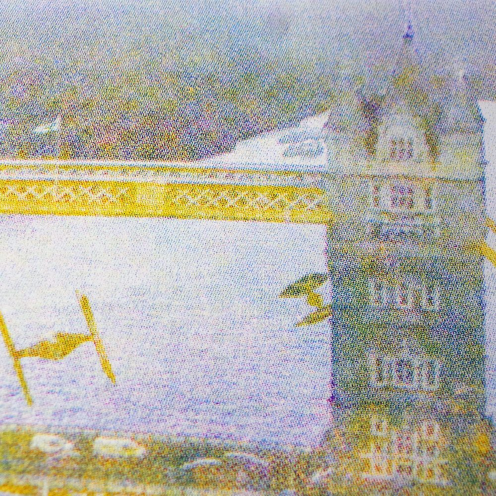 Star Wars - Incident at Tower Bridge - Screen print - Yellow, Magenta, Cyan